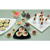Mini Disposable Dessert Plates, Cups & Flatware
