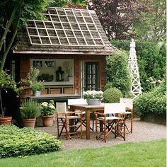 Quintessential Outdoor Garden Houses | Second Shout Out