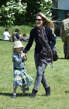 The Queen's great-grandchildren enjoy day at Royal Windsor Horse Show   Daily Mail Online