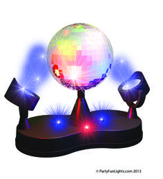 PartyFunLights - Disco lamp - LED