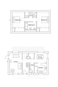 Small Homes Prefabs On Pinterest Floor Plans Small House Plans And House Plans