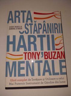 Arta stăpânirii hărții mentale de Tony Buzan - Editura DPH/ Didactica Publishing House - recenzie