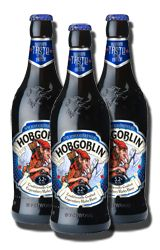 A full bodied ruby beer that delivers a delicious chocolate toffee malt flavour, Wychwood Hobgoblin is a balanced beer with moderate bitterness and an overall fruity, mischievous character.