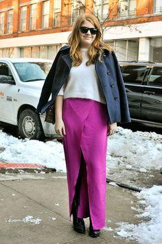 Street Style at New York Fashion Week Fall 2013 Photo 2