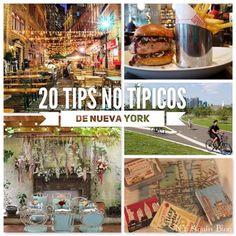 20 tips no típicos sobre la ciudad de Nueva York. Atracciones, gastronomía y más!