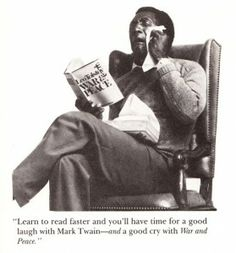 "How to Read Faster: Bill Cosby's Three Proven Strategies  ""Nobody gets something for nothing in the reading game."""