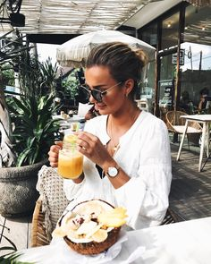 Lunch Time, Straw Bag, Alcoholic Drinks, Organic, Instagram Posts, Photography, Inspiration, Food, Style