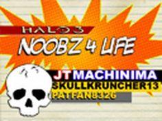 Noobz 4 Life (halo).  Halo + Polka,  what could be more natural.