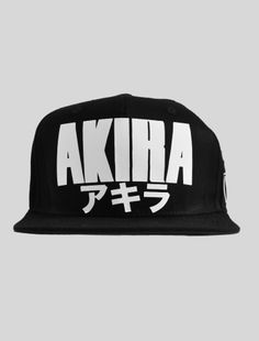 AKIRA Inspired Snapback Top Gifts ce660c29c9be