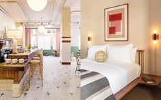 Collaboration, Hospitality, The Dreamers, Wall Art, Bed, Interior, Furniture, Beautiful, Color
