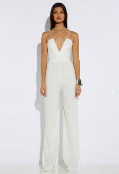 Rehearsal Dinner Fashion: Dressy Jumpsuit - Bajan Wed : Bajan Wed