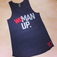 WoMan Up // Fun Fitness Clothing