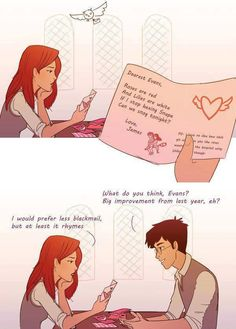 Harry Potter fan fiction Lily and James Potter