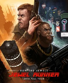 Run the Jewels Announce Jewel Runner Fall Tour With Incredible Poster