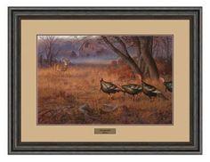 Hayden Lambson Framed Artwork - Passing the Buck