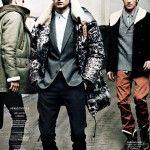 Aiden Andrews, Julien Quevenne, Matvey Lykov & Vinnie Woolston by Sven Baenziger for GQ France