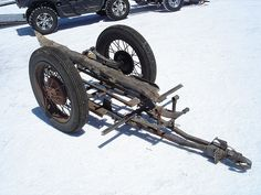 "Is it the real cycle trailer (with spare log/tire) from Burt Munro? "" World's Fastest Indian"" ?"