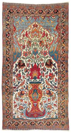 Lot 76. Bakhtiar, West Central Persia (Iran), c. 500 x 250 cm, about 1900. Estimate EUR 10,000 to 12,000
