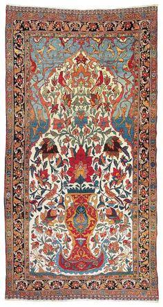 Lot 76. Bakhtiar, West Central Persia (Iran), c. 500 x 250 cm, about 1900. Estimate EUR 10,000 to 12,000