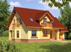 ... Spanish House, Design Case, Small House Plans, House 2, My Dream Home, Dream Homes, Home Fashion, Home Projects, House Design