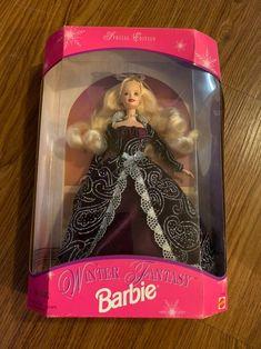 Winter fantasy barbie on Mercari Mattel Dolls, Lunch Box, Barbie, Boxes, Let It Be, Storage, Check, Purse Storage, Crates