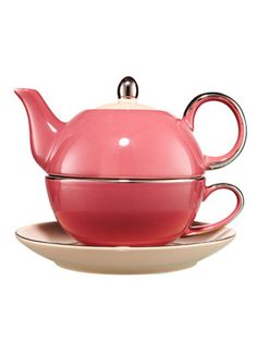 I love these little tea for one pots!