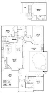 Customized Tuscany Floor Plan