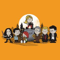 Buffy the Vampire Slayer Peanuts by Tom Trager
