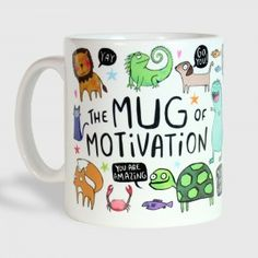 The Illustrated Mug of Motivation - The Lost Lanes
