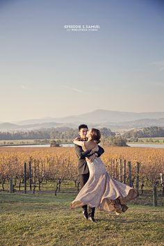 Wedding - Prewedding - Engagement Photography  Make up and Hair do by Keziah Shierly Make-up Artist https://www.facebook.com/KeziahShierlyMakeUpArtist