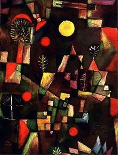 pleine lune, 1919 de Paul Klee (1879-1940, Switzerland)