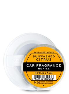 Shop Sun-Washed Citrus Car Fragrance Refill at Bath And Body Works! Fill your home with the most irresistible, beautiful fragrance today. House Cleaning Tips, Cleaning Hacks, Christmas Ideas For Mum, Popular Perfumes, Bath And Body Works, Clean House, It Works, Fragrance, Car