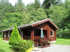 18 Lamont Lodge is an authentic log cabin, built 'log-upon-log'. Set in a small scenic park area known as Lamont Lodges near Benmore, Dunoon. Sleeps 6 http://www.argyllselfcateringholidays.co.uk/property-details.php?id=10