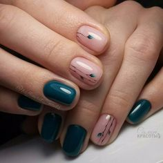 Beautiful And Stylish Nail Art Ideas is part of Stylish nails - Im ALWAYS looking online before I go to the nail salon for new ideas and photos to show the artist I collected my favorite Summer nail ideas and now im crazing to get them done! Green Nails, Pink Nails, My Nails, French Pedicure, Pedicure Nail Art, Gel Manicure, Cute Nails, Pretty Nails, Minimalist Nails