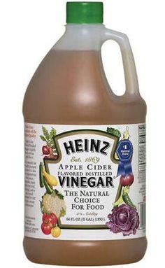 Heinz Distilled Apple Cider Vinegar oz Jug) for sale online Apple Cider Vinegar Brands, Apple Cider Vinegar Cellulite, Substitute For Rice Vinegar, Heinz Vinegar, Vinegar With The Mother, Cooking Supplies, Natural Flavors, Free Food, Case Check
