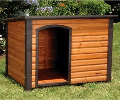 Solid Wood Dog House