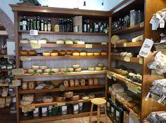 Pienza i els formatges. Cheese in Pienza