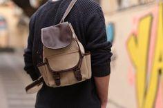 Agarapati Leather  ®  Premium Kanvas Sırt Çantası