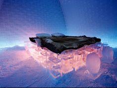 瑞典Jukkasjärvi的冰旅馆,你敢去睡吗
