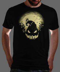 """""""Jack's Nightmare"""" today only on Qwertee : Limited Edition Cheap Daily T Shirts   Gone in 24 Hours   T-shirt Only £8/€10/$12   Cool Graphic Funny Tee Shirts"""