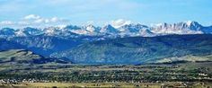 Wyoming Centennial Scenic Byway, Wyoming  | town located on a scenic route, the Wyoming Centennial Scenic Byway ...