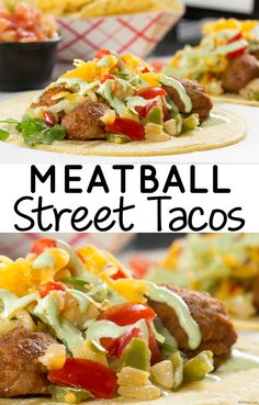Your tacos don't always have to be the same! Try our Meatball Street Tacos for a change-of-pace. They're delicious and ready in less than 10 minutes!