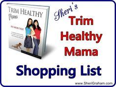 Sheri's Trim Healthy Mama Shopping List