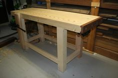 end vise - Google Search Workshop Ideas, Picnic Table, Wood Working, Woodwork, Google Search, Furniture, Home Decor, Woodworking, Decoration Home