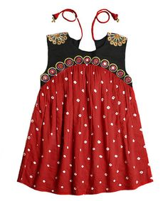 Look what I found on #zulily! Red Kate Dress & Bloomers - Toddler & Girls by Child of the World #zulilyfinds