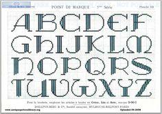 Dillmont, Th. de, ed. D.M.C. Point de Marque [5] 5me Serié, Mulhouse, Dollfus Mieg & Cie (first pub c.1920). Art deco. Page 6