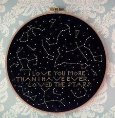 Constellation Cross Stitch Pattern by MichelleGauthierArt on Etsy