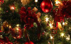 Christmas ornaments HD Wallpaper