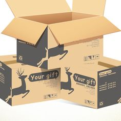 Customized Packaging Carton Recycled Cardboard Box | Printing And Packaging