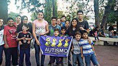 Los juveniles pasaron una linda tarde junto a los nenes del Hogar Mignaqui, diciéndole SI a la integración en el Día del Autismo